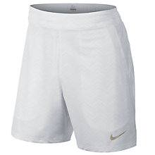 Buy Nike 18cm Premier Gladiator Tennis Shorts, White Online at johnlewis.com