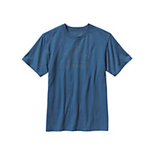 Buy Patagonia Live Simply Dive In Short Sleeve T-Shirt, Glass Blue Online at johnlewis.com