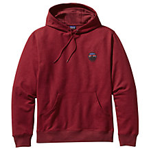Buy Patagonia Monk Hoodie, Wax Red Online at johnlewis.com