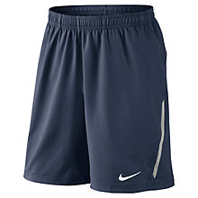 Buy Nike Power 23cm Tennis Shorts, Navy Online at johnlewis.com