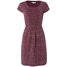 Buy White Stuff Bento Print Dress, Dark Magenta Online at johnlewis.com