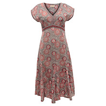 Buy East Anokhi Ido Print Dress, Pearl Online at johnlewis.com