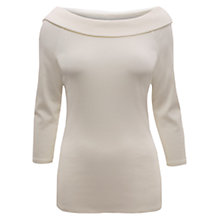 Buy East Bardot Jersey Top Online at johnlewis.com