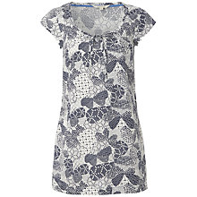 Buy White Stuff Butterfly Print Tunic, Onyx Blue Online at johnlewis.com