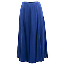 Buy East Distressed Maxi Skirt, Blue Online at johnlewis.com
