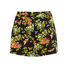 Buy Oasis Butterfly Blossom Shorts, Multi Online at johnlewis.com