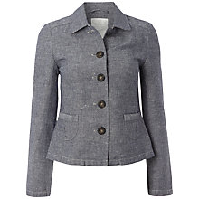 Buy White Stuff Hanokotaba Jacket, Onyx Blue Online at johnlewis.com