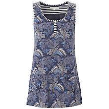 Buy White Stuff Bonita Print Vest, Onyx Online at johnlewis.com