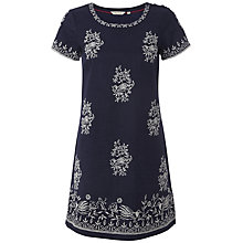 Buy White Stuff Kimchi Embroidered Tunic, Onyx Blue Online at johnlewis.com