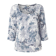 Buy White Stuff Blossom Print Top Online at johnlewis.com