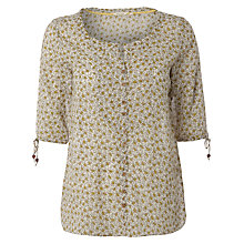 Buy White Stuff Koi Floral Top, White Online at johnlewis.com
