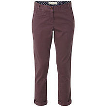 Buy White Stuff Day Tripper Tapered Chino Trousers, Dark Thistle Online at johnlewis.com