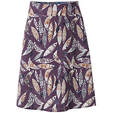 Buy White Stuff Carp Reversible Skirt, Dark Thistle Online at johnlewis.com