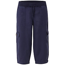 Buy White Stuff Chattering Cropped Trousers, Onyx Blue Online at johnlewis.com