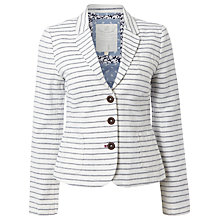 Buy White Stuff Newinton Stripe Blazer, Onyx Blue Online at johnlewis.com