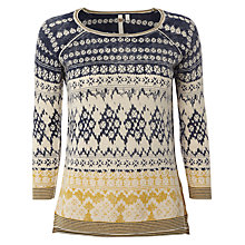 Buy White Stuff Mino Printed Jumper, Multi Online at johnlewis.com