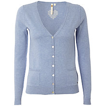 Buy White Stuff Hearty Cardigan, China Blue Online at johnlewis.com
