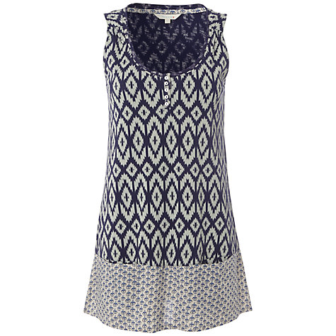 Buy White Stuff Fuji Vest Top, Onyx Online at johnlewis.com