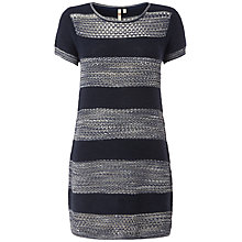 Buy White Stuff Okuda Knitted Tunic, Onyx Blue Online at johnlewis.com