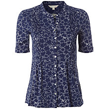 Buy White Stuff Osaka Print Shirt, Onyx Online at johnlewis.com