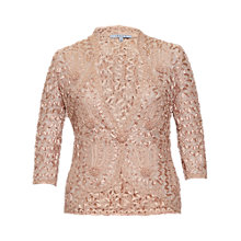 Buy Chesca Cornelli Jacket, Apricot Online at johnlewis.com