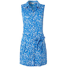Buy White Stuff Sashiko Vest Tunic, Dark China Blue Online at johnlewis.com
