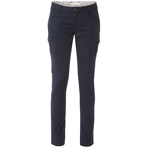 Buy White Stuff Sandy Bay Trousers, Onyx Blue Online at johnlewis.com