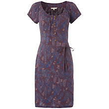 Buy White Stuff Ramen Print Dress, Dark Thistle Online at johnlewis.com