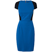 Buy Closet Contrast Panel Bodycon Dress, Blue Online at johnlewis.com