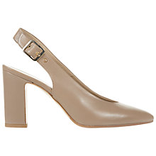 Buy Hobbs Cora Slingback Leather Court Shoes Online at johnlewis.com
