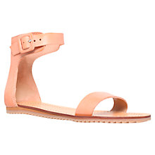 Buy Kurt Geiger Gdsport Buckle Ankle Strap Flat Sandals Online at johnlewis.com