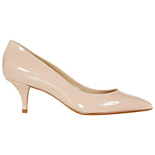 Buy Hobbs Arianne Leather Court Shoes Online at johnlewis.com