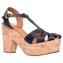 Buy Kurt Geiger Lotus Closed Toe Platform Sandals Online at johnlewis.com