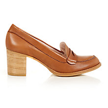 Buy NW3 by Hobbs Brigitte Leather Courts, Tan Online at johnlewis.com
