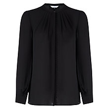 Buy COLLECTION by John Lewis Mariella Braided Blouse, Black Online at johnlewis.com