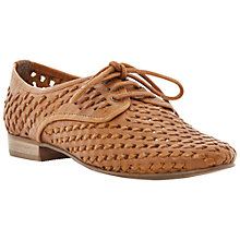 Buy Dune Lost Leather Weaved Lace Up Brogues Online at johnlewis.com