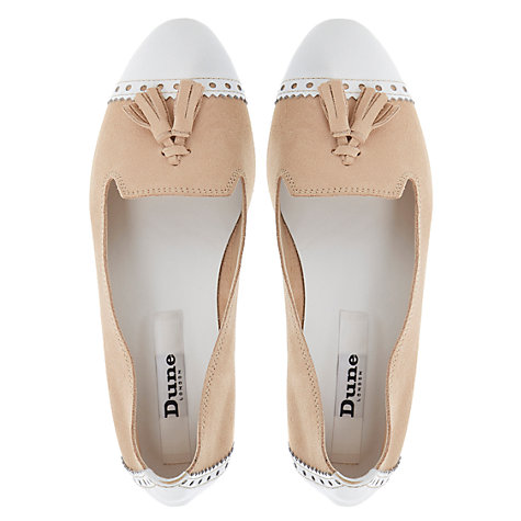 Buy Dune Lucille Suede Loafers Online at johnlewis.com