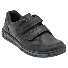 Buy Start-rite Children's Flexi Soft Air Trainers, Black Online at johnlewis.com