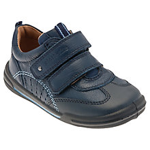 Buy Start-rite Children's Flexi Soft Air Trainers, Navy Online at johnlewis.com