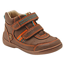 Buy Start-rite Super Soft Max Double Rip-Tape Boots, Brown Online at johnlewis.com