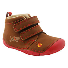 Buy Start-rite Fetch Twin Rip-Tape Boots, Brown Online at johnlewis.com