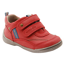 Buy Start-rite Super Soft Leo Rip-Tape Shoes, Red Online at johnlewis.com