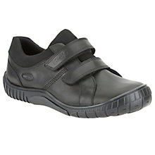 Buy Clarks Childrens' Malton GORE-TEX® Shoes, Black Online at johnlewis.com