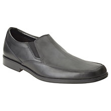 Buy Clarks Children's Hoxton Gent Shoes, Black Online at johnlewis.com