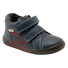 Buy Start-rite Aqua Flexy Soft Twin Rip-Tape Shoes, Navy Online at johnlewis.com