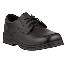 Buy John Lewis Lace-Up Leather Shoes, Black Online at johnlewis.com