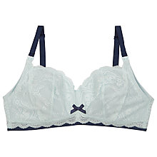 Buy Elle Macpherson Intimates Cloud Swing Persian Maternity Bra, Blue Glass / Insignia Blue Online at johnlewis.com
