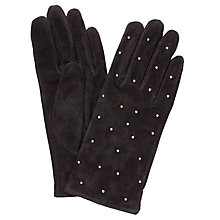 Buy John Lewis Suede Studded Gloves Online at johnlewis.com