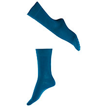 Buy Falke Sensitive London Ankle Socks, Petrol Online at johnlewis.com