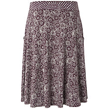 Buy White Stuff Japanese Daisy Skirt, Dark Thistle Online at johnlewis.com